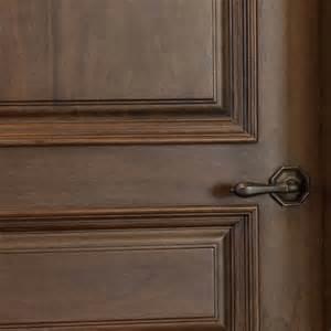 Solid Interior Wood Doors Interior Door Custom Single Solid Wood With Walnut Finish Classic Model Gdi 611