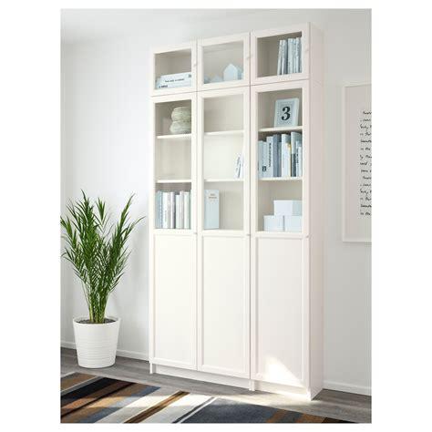 billy oxberg bookcase ikea billy oxberg bookcase white glass 120x237x30 cm ikea