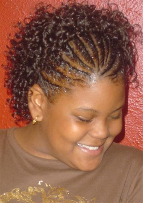 braid in front curl in back hair cornrow hairstyles 14 inkcloth