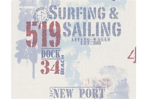 tapete maritim livingwalls surfing sailing hochwertige mustertapete