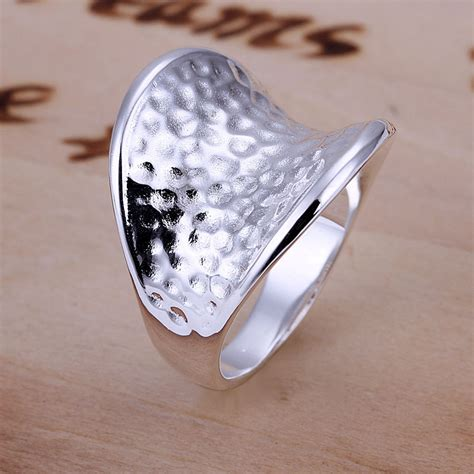 image sterling silver thumb rings for