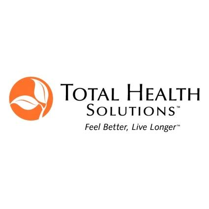 total health solutions vector logo free vector free