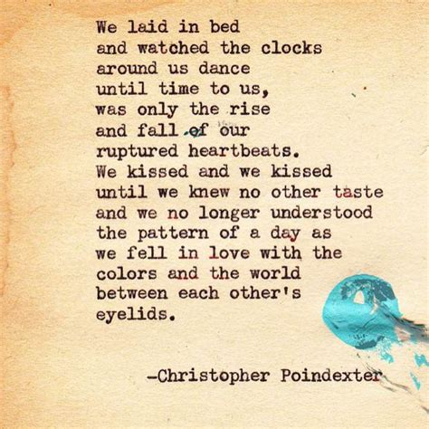 christopher poindexter poems   melt  soul