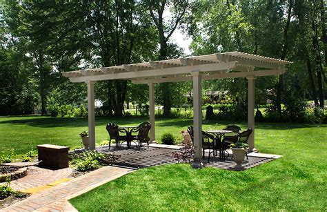 home town restyling free standing pergola gallery home