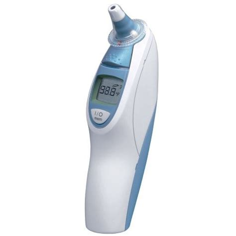 Ear Thermometer braun thermoscan ear thermometer with exactemp technology gadgetgrid