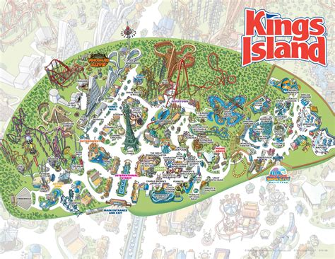 Kings Island Gift Cards - 12 things to do in ohio while western and southern open