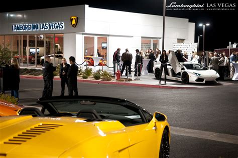 Lamborghini Dealership Las Vegas Lamborghini Las Vegas Celebrates New Showroom Grand