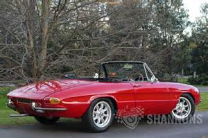 Alfa Romeo 1600 Spider Sold Alfa Romeo Duetto 1600 Spider Auctions Lot 22
