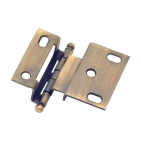 armoire hinges hardware classic brass 254 offset cabinet hinge atg stores