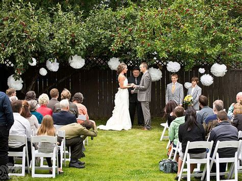 Casual Backyard Wedding Ideas 25 Best Ideas About Backyard Wedding Receptions On Pinterest Backyard Wedding Decorations