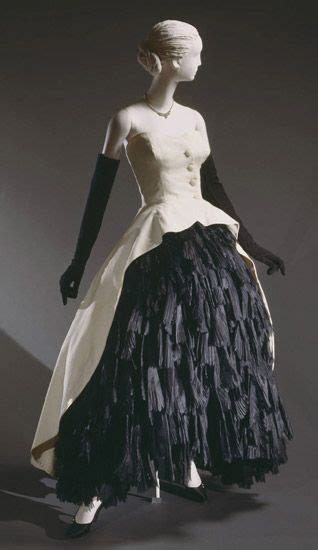 dress cristobal balenciaga 1951 the philadelphia museum