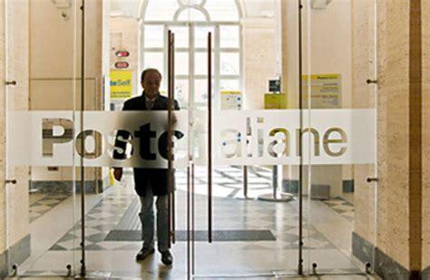 ufficio recapiti poste italiane chiusura sportelli poste italiane il piano di