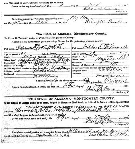 Montgomery Marriage Records The Usgenweb Archives Project Lowndes County Alabama Vital Records