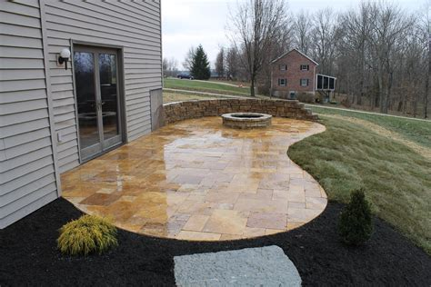 travertine backyard patios travertine marble smithscapes