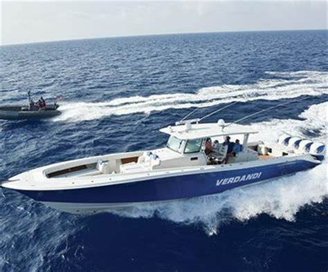 world largest fishing boat world s largest center console with single skin hull
