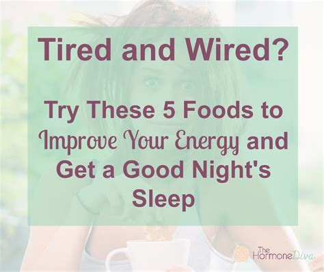 7 Foods To Avoid For A Nights Sleep by Tired And Wired The Hormone