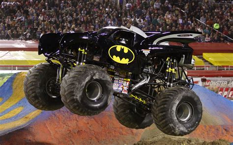 wheels monster jam batman truck 10 scariest monster trucks photo gallery motor trend