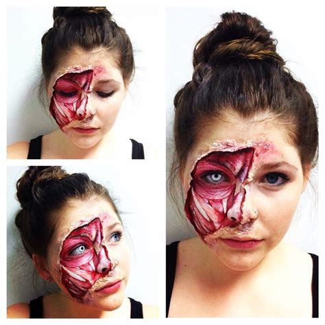 zombie makeup tutorial without latex 14 best halloween makeup costumes images on pinterest