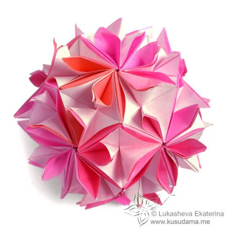 Stellated Octahedron Origami - origami sonobe 171 embroidery origami