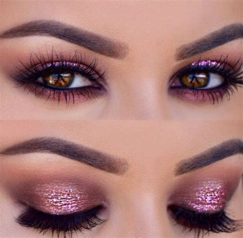 light pink glitter eyeshadow amazing image 3202392 by marine21 on favim com