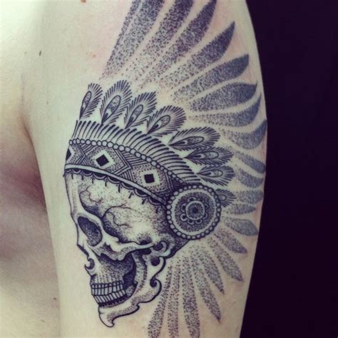 skullcandy tattoo designs dot work tattoos mixing styles dotwork and skullcandy