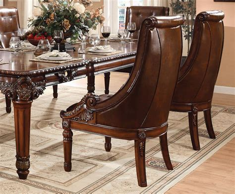 Traditional Dining Table And Chairs Greco Traditional Style Dining Table Set