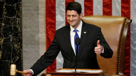 who s the speaker of the house paul ryan re elected as speaker of the house of representatives world news