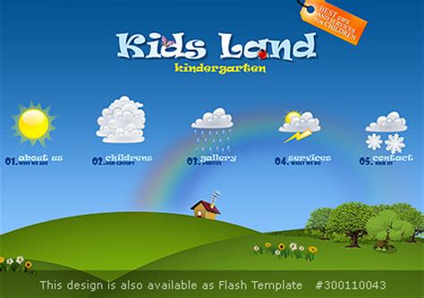 download free website templates for kindergarten kindergarten flash website template best website templates