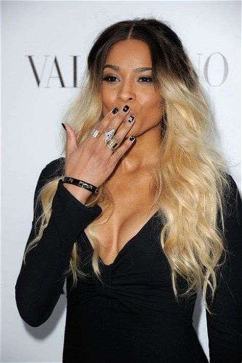 black and blonde ombre images one of the best shots of her ciara inspired black