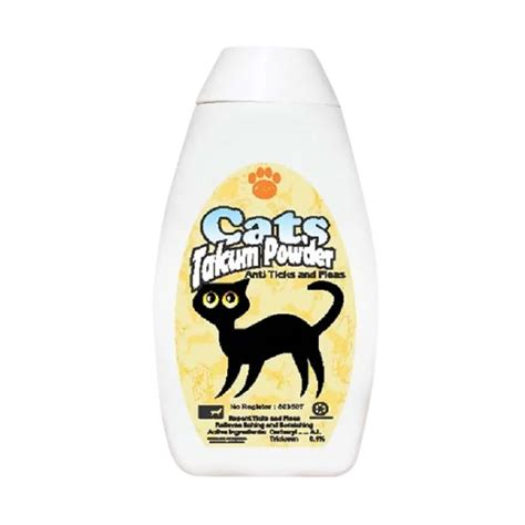 Fungizidal Krim Anti Jamur For Cat Kitten Kucing jual raid all cats talcum powder anti ticks fleas bedak kucing anti kutu 100 g