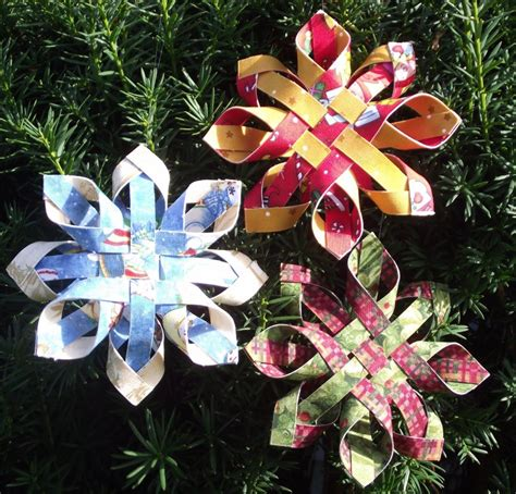 pattern for woven snowflake ornament woven snowflake ornament kit penny marble designs 13502