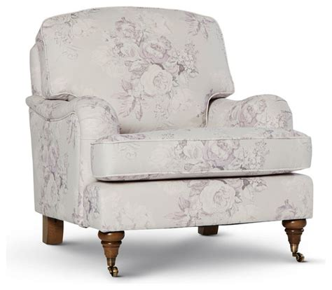 chelsea floral armchair traditional armchairs accent