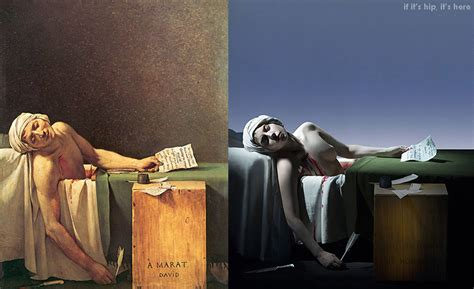marat song lady gaga morphs into classic paintings via video a