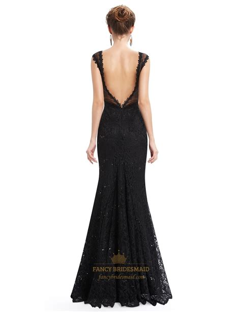 floor length dress how should be black floor length illusion neck prom dress with lace