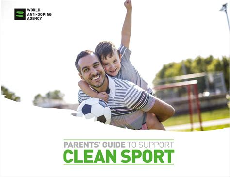 Or Parents Guide Wada Publishes New Education Tool Parents Guide To Support Clean Sport World Anti Doping Agency
