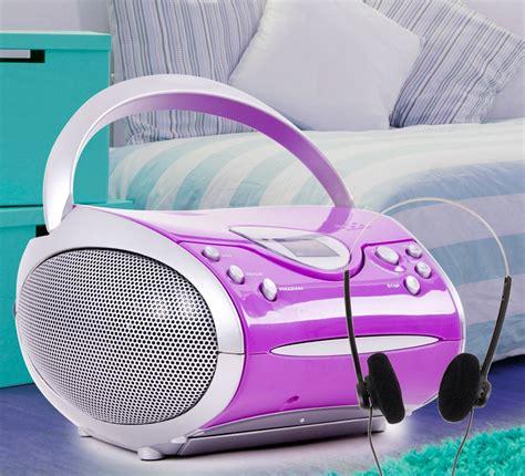 cd player children s room music system stereo speakers fm