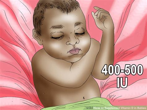 vitamin d supplement for babies how to supplement vitamin d in babies 8 steps with pictures