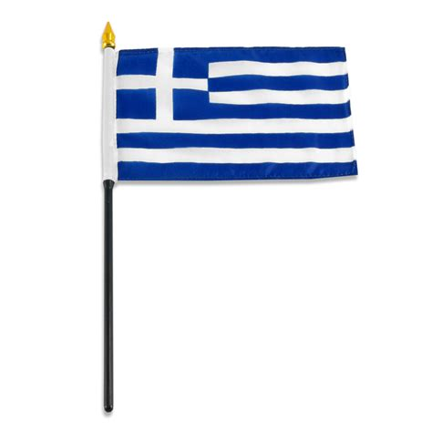 4x6 inch greek flag