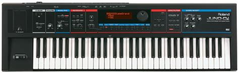 Second Keyboard Roland Juno Di which are the most versatile synths here are 3 great choices