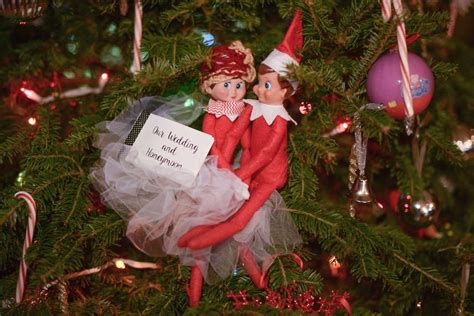On The Shelf Gets Married by Creates On The Shelf Wedding And Honeymoon