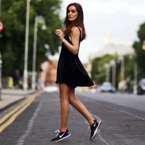 dress sneaker 21 feminine skater dress ideas for summer styleoholic