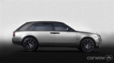 rolls royce cullinan price 2015 rolls royce suv crossover rendering by carwow uk 4