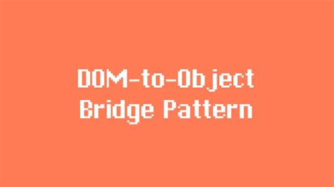 design pattern query object plugin jquery design patterns