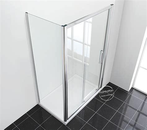Manhattan Shower Door Manhattan New Era 6 Sliding Shower Door 1200mm C12s4864ncc