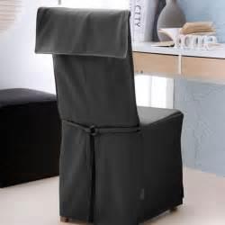 housse de chaise city noir eminza