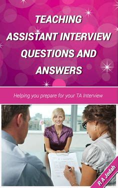 teaching assistant q a specific questions