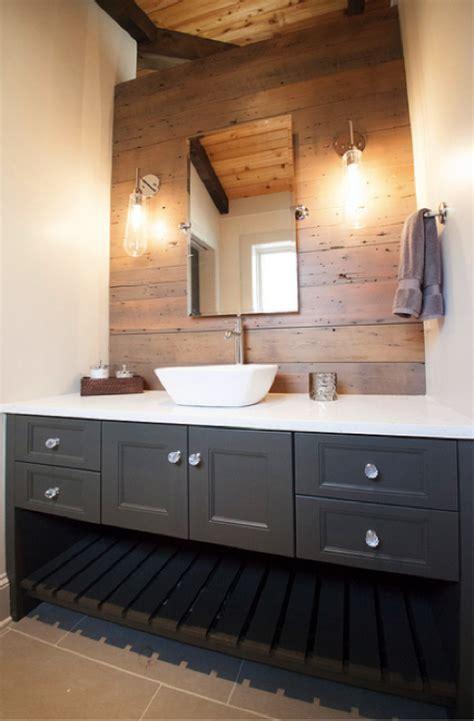 wood wall bathroom bringing barnwood into your bathroom reclaimed wood bathroom