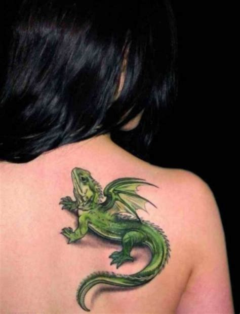 lizard tattoo behind ear 20 awesome lizard tattoo ideas for girls styleoholic