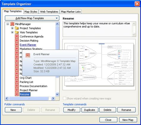 mindmanager templates free mindmanager