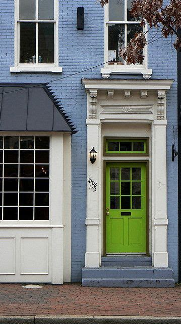 green house door color quot perfect blue house next to a green apple sea quot counting